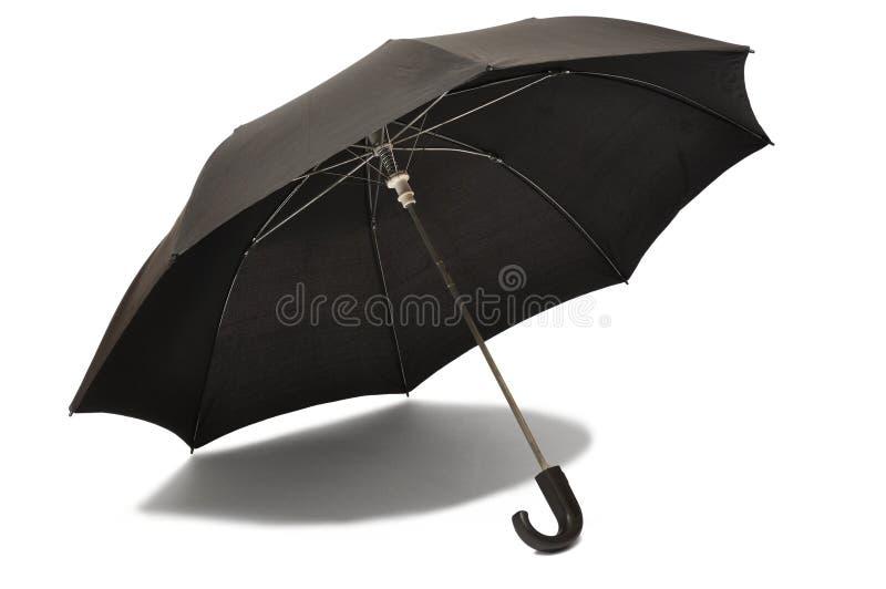 Paraguas negro foto de archivo libre de regalías