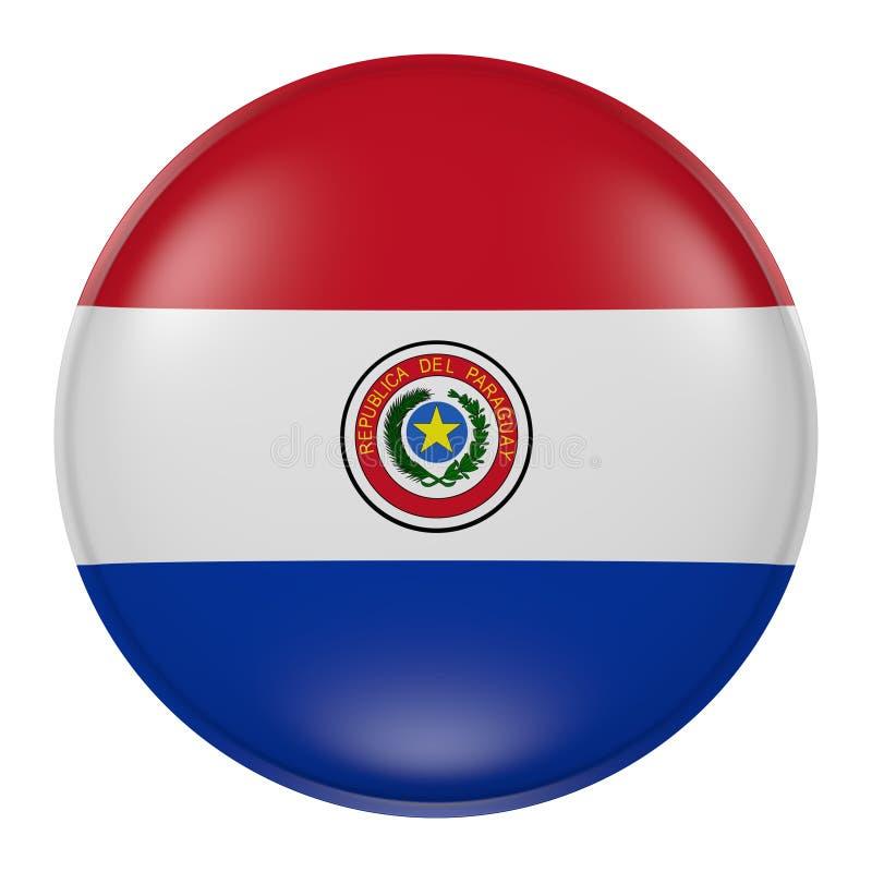 Paraguay knapp stock illustrationer