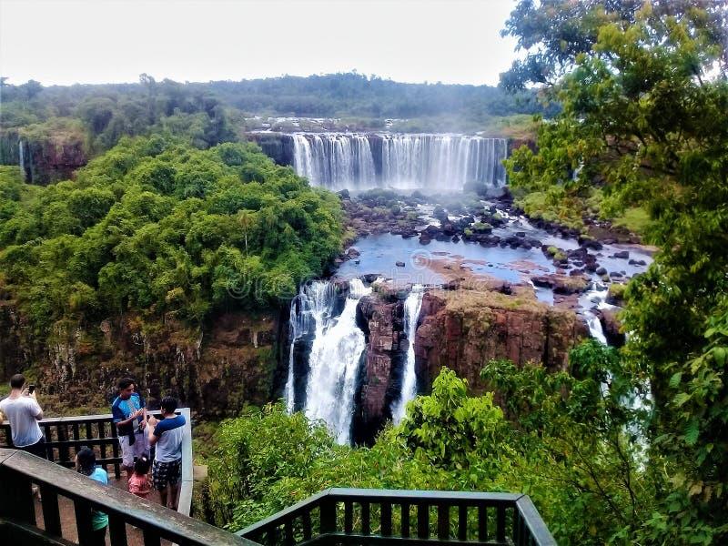 Paraiso Foz de Iguazu, Βραζιλία Τουρισμός στοκ φωτογραφία με δικαίωμα ελεύθερης χρήσης
