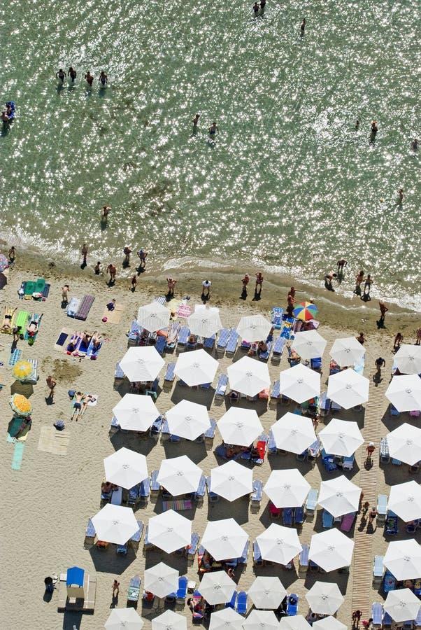 paralia na plaży fotografia stock
