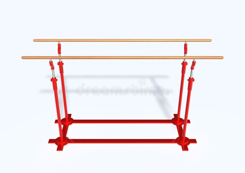 Download Parallel bars stock illustration. Illustration of bars - 12212890