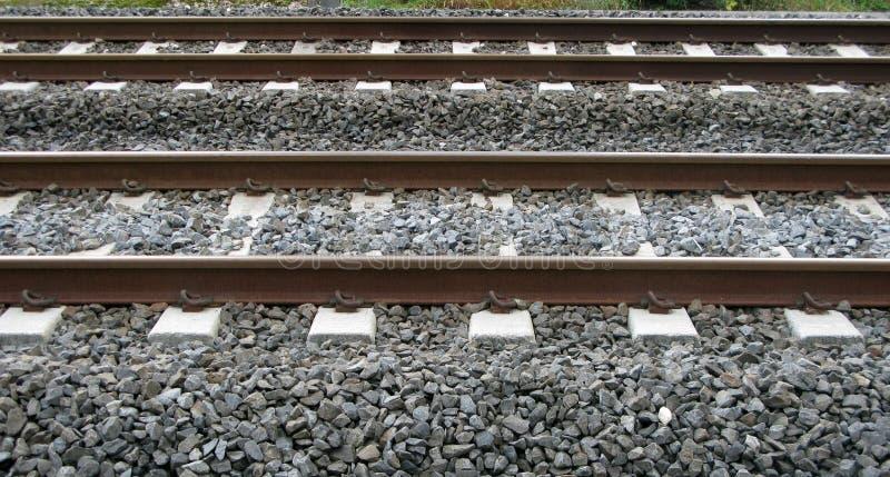 Parallel Railways Royalty Free Stock Image