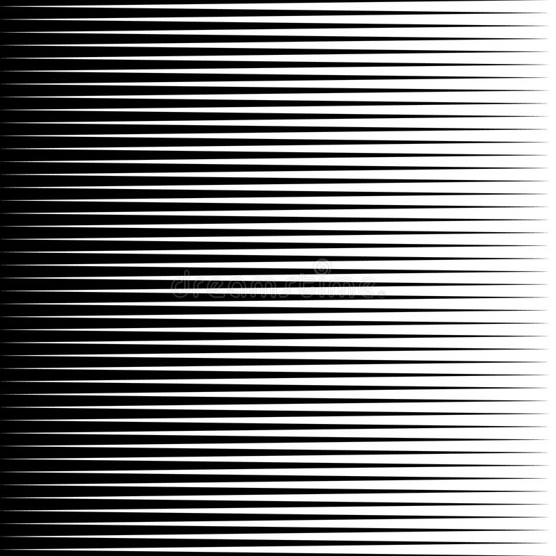 Parallel straight lines monochrome pattern geometric texture vector illustration