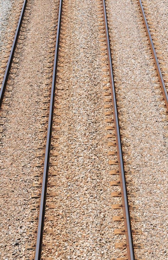 Parallele Schienen stockfoto