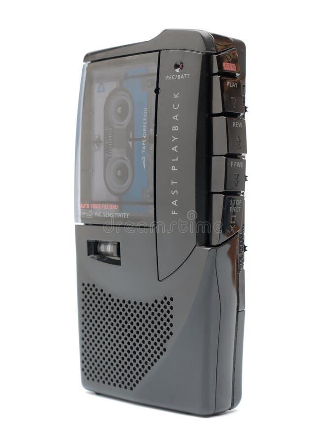 parallell dictaphone royaltyfria bilder