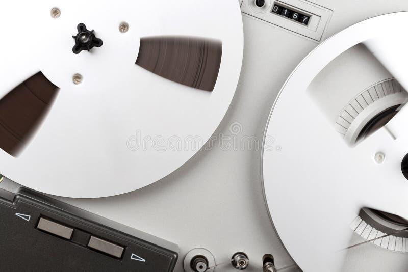 Parallell stereo- rullregistreringsapparatspelare royaltyfria bilder