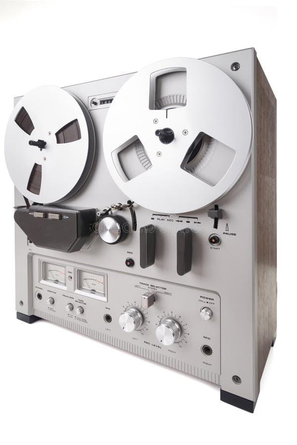Parallell stereo- rullregistreringsapparatspelare royaltyfri bild