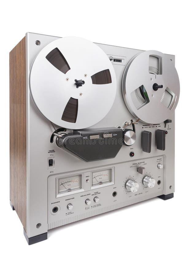 Parallell stereo- rullregistreringsapparatspelare royaltyfri foto