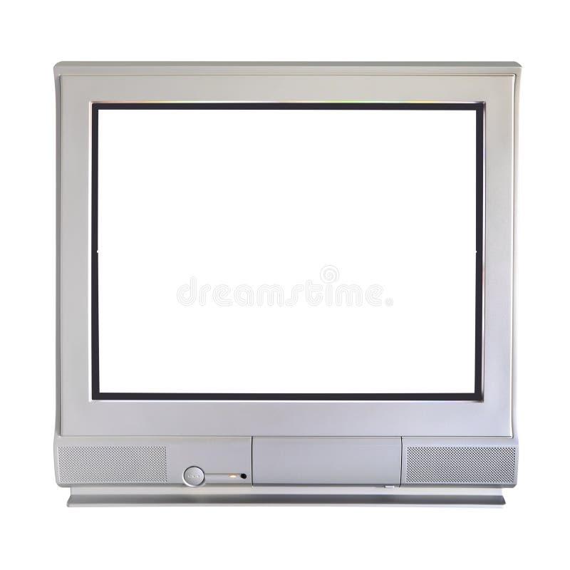 Parallell television för rör för katodstråle royaltyfri foto