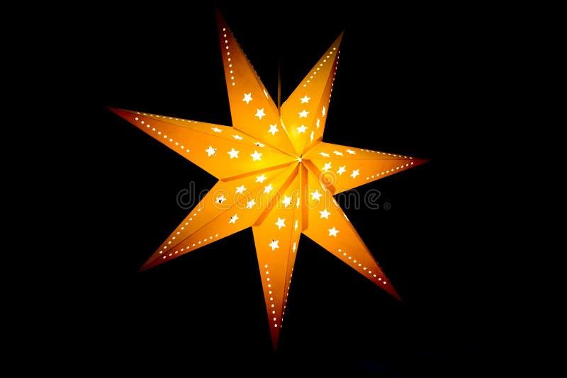 Paralume della stella fotografia stock