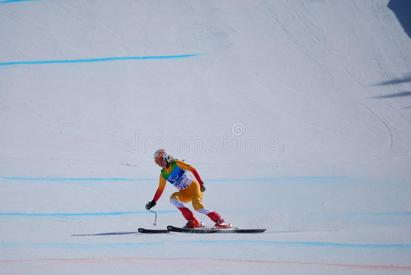 Download Paralympic Downhill Skiing editorial stock image. Image of sport - 13512259