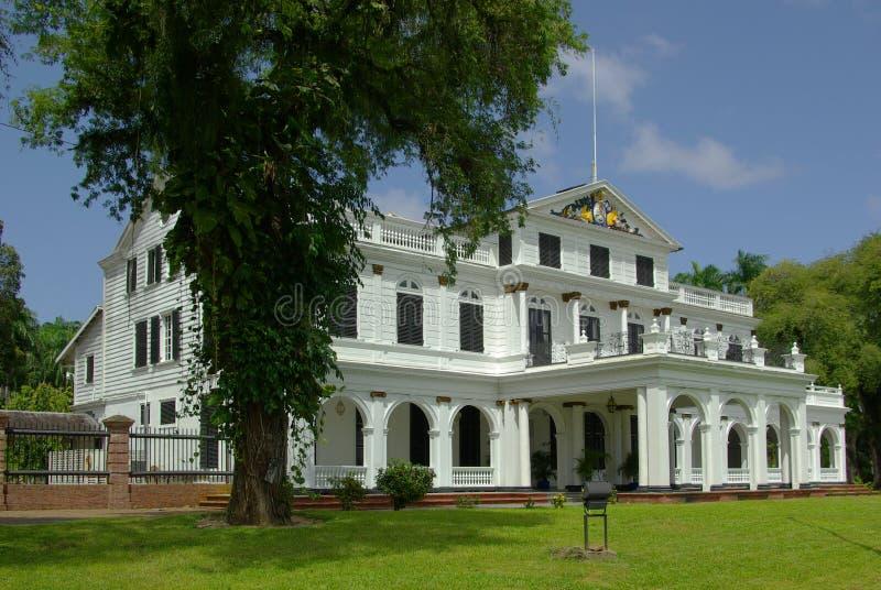 Paramaribo Presidential Palace Editorial Stock Photo