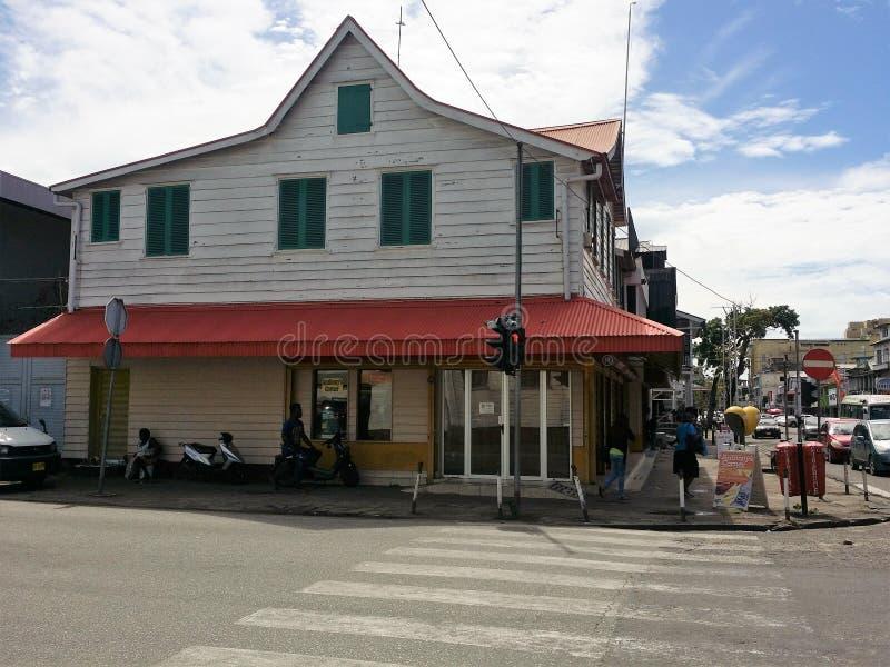 Paramaribo, Surinam lizenzfreie stockfotos