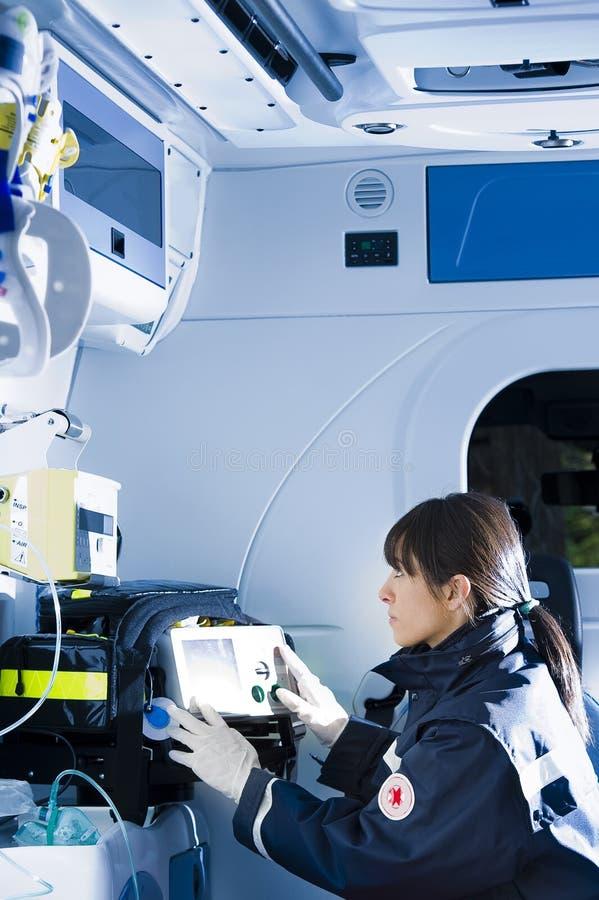 Free Paramedic At Work Stock Images - 18050624