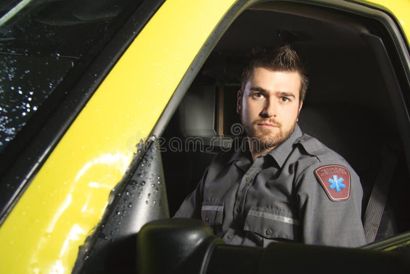 Paramedicus royalty-vrije stock foto