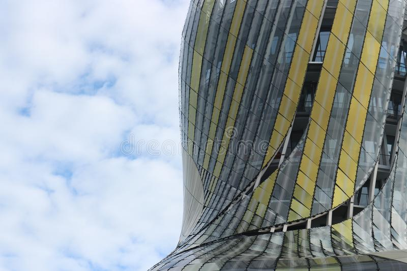 Parametrische Architectuur - Frankrijk royalty-vrije stock foto's