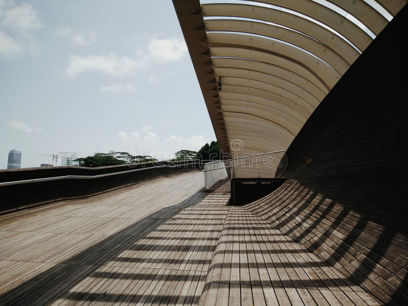 parametrisk bro royaltyfri bild
