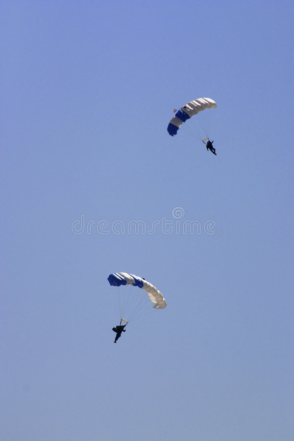 Paramilitares da força aérea de Estados Unidos imagens de stock royalty free