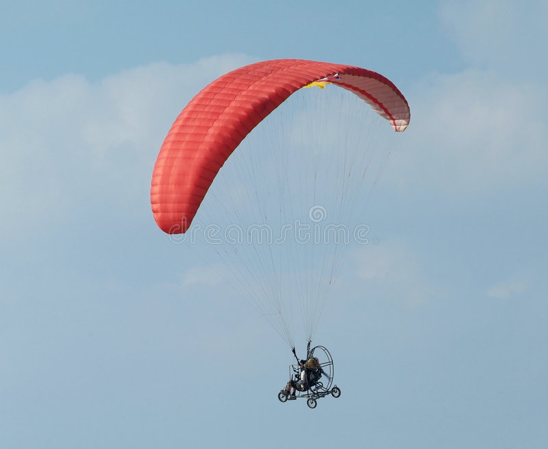 Download Paramotor flying stock image. Image of flying, engine - 4061835