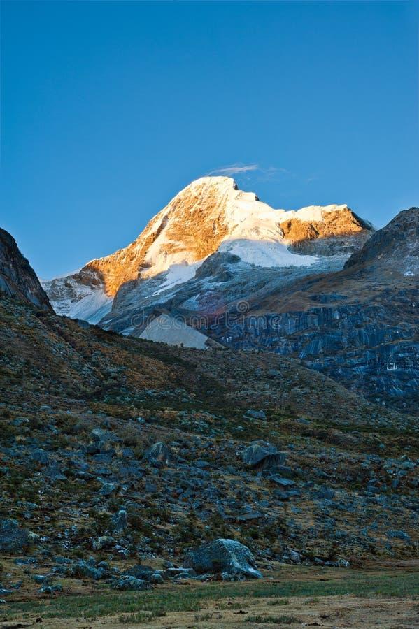 Paramount berg arkivbild