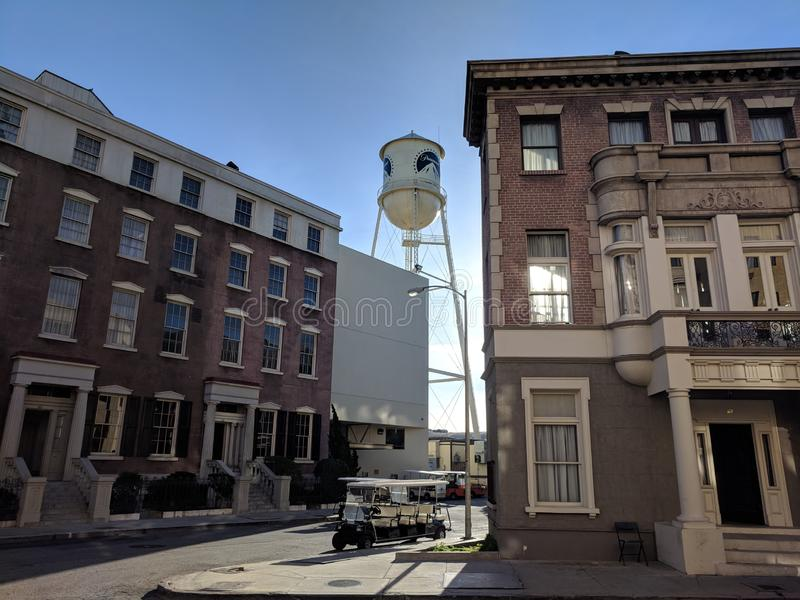 Paramount Pictures studiolott arkivfoton