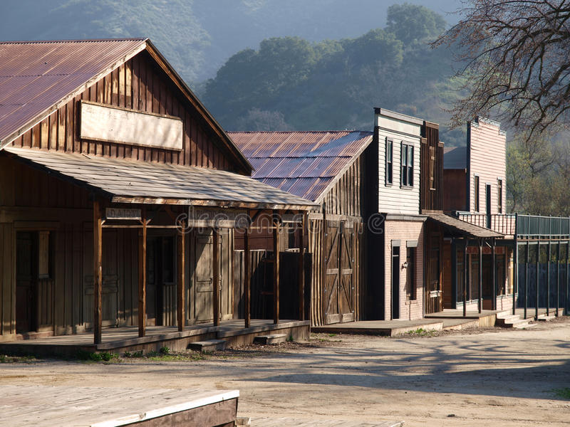 paramount ranch royaltyfria bilder