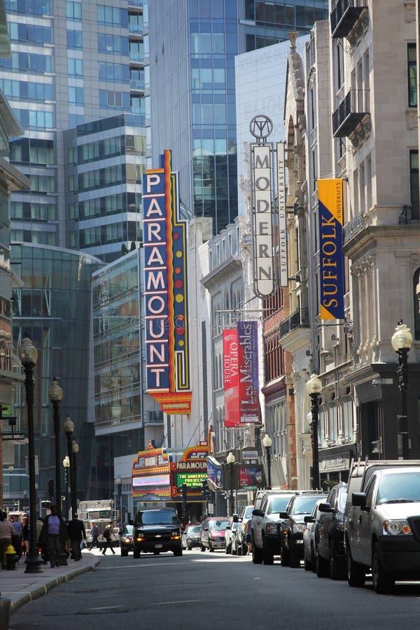 Paramount theater stock image