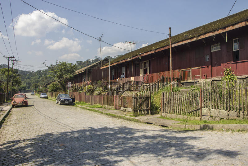Paranapiacaba - Brasilien stockfotos