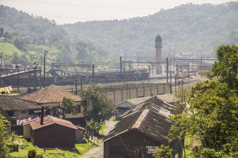 Paranapiacaba - Brazil. View of Paranapiacaba, in Santo André - Brazil royalty free stock photography