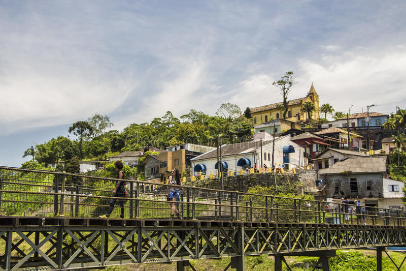 Paranapiacaba, Brazylia - obraz stock