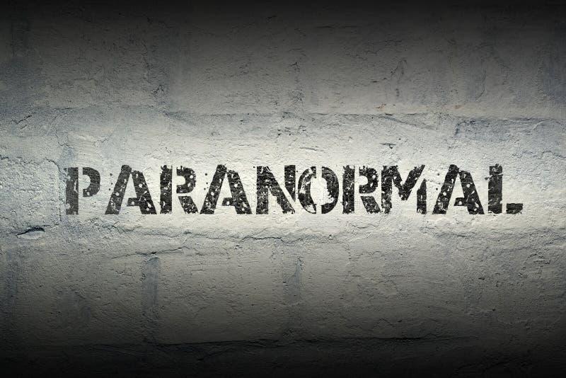 Paranormales Wort GR lizenzfreie stockfotografie