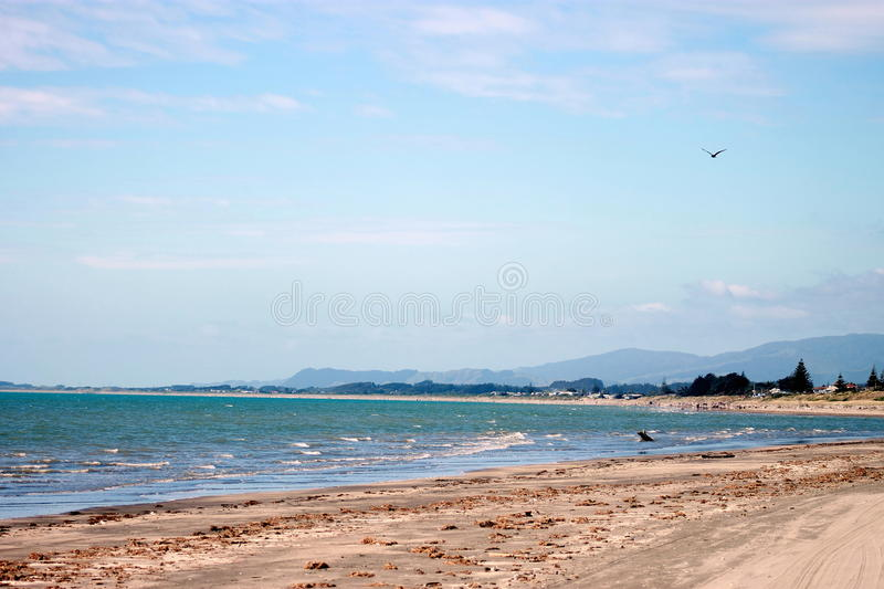 Paraparaumu Beach, New Zealand. Landscape image of Paraparaumu Beach, Kapiti, Wellington, New Zealand royalty free stock image