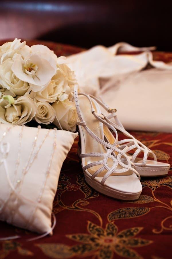 parapherneliabröllop arkivfoto