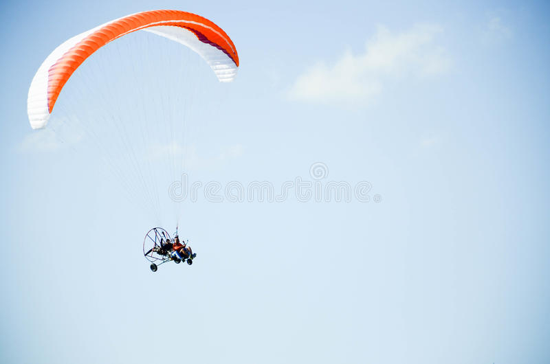 Paraplane imagem de stock royalty free
