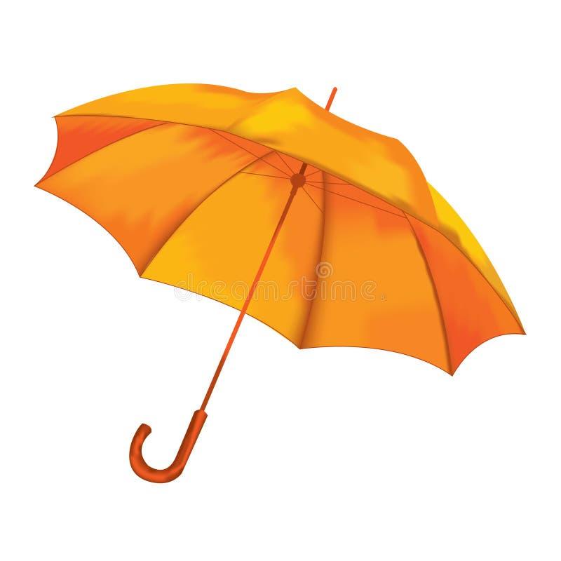 Paraplu op een witte achtergrond Vector vector illustratie