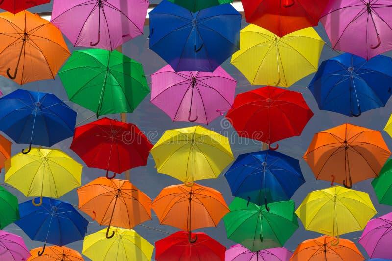 paraplu's stock foto