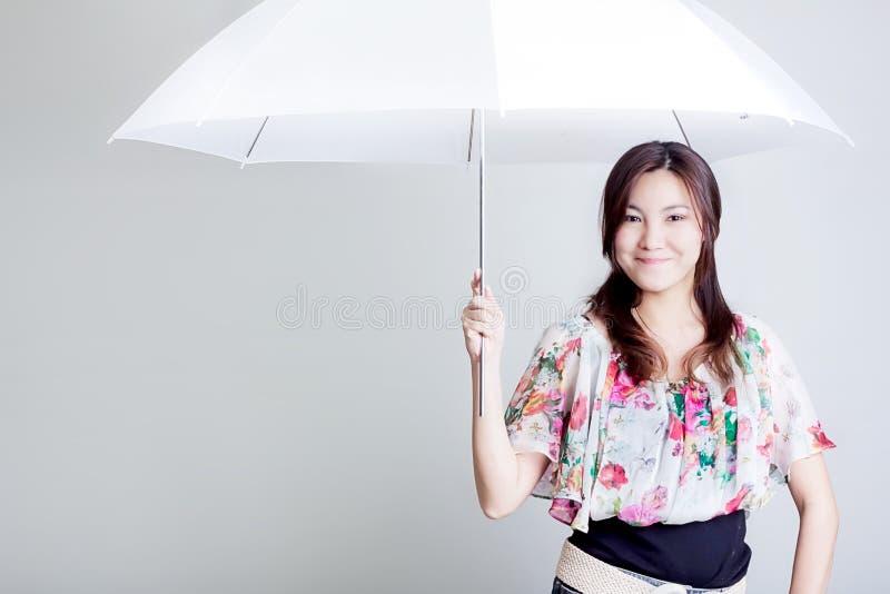 Parapluie blanc image libre de droits