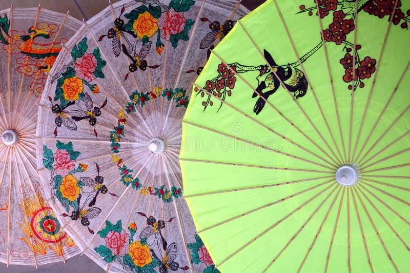 Parapluie chinois image libre de droits