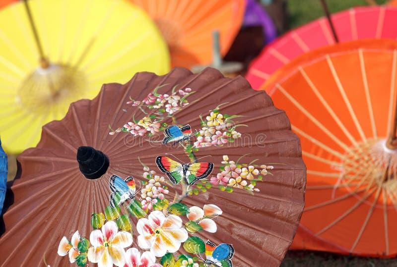 Parapluie de Si-ngan photo libre de droits