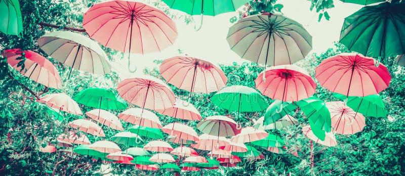 Parapluie en pastel images stock