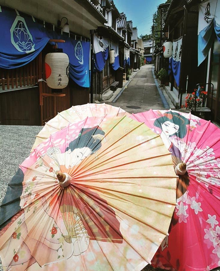 Parapluie japonais photo stock