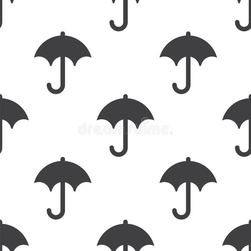 Parapluie, modèle sans couture de vecteur illustration de vecteur