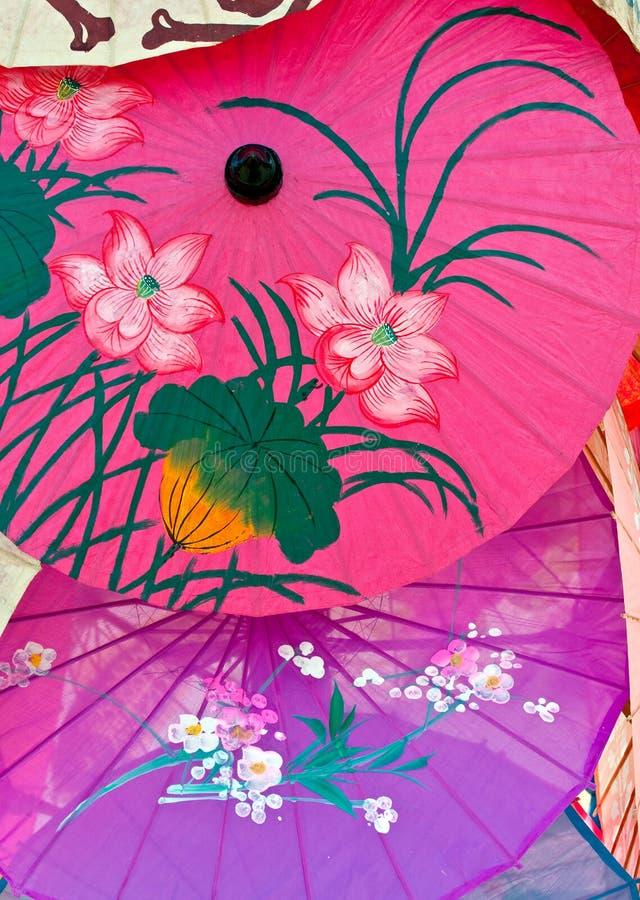 parapluies photographie stock