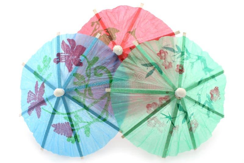 Parapluies de cocktail photo libre de droits