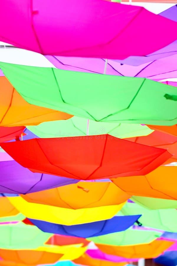 Parapluies heureux photos libres de droits