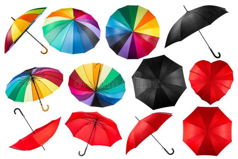 Parapluinzameling royalty-vrije stock afbeeldingen
