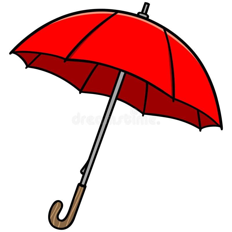 paraply royaltyfri illustrationer