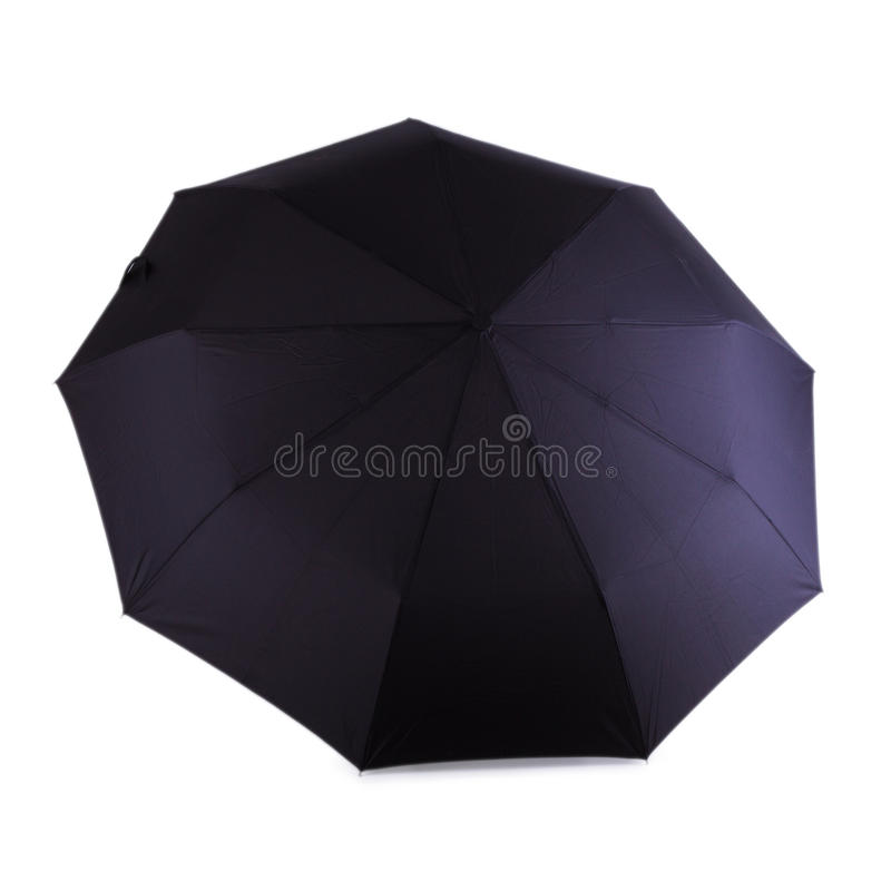 paraply för svart man s royaltyfri foto