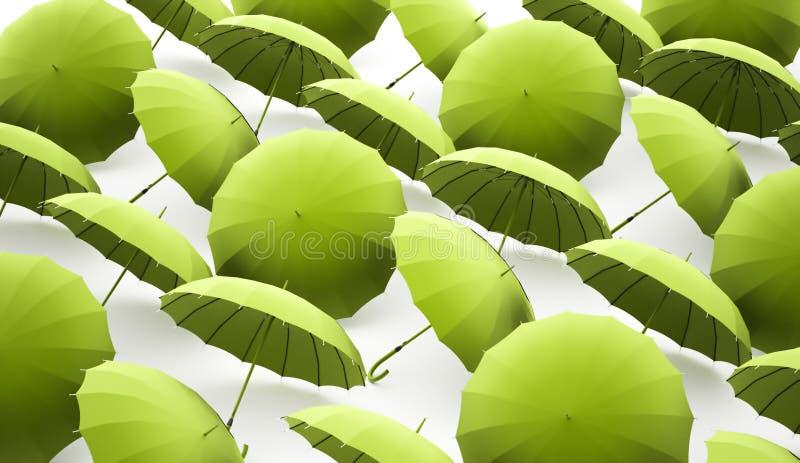 Paraplybegrepp stock illustrationer