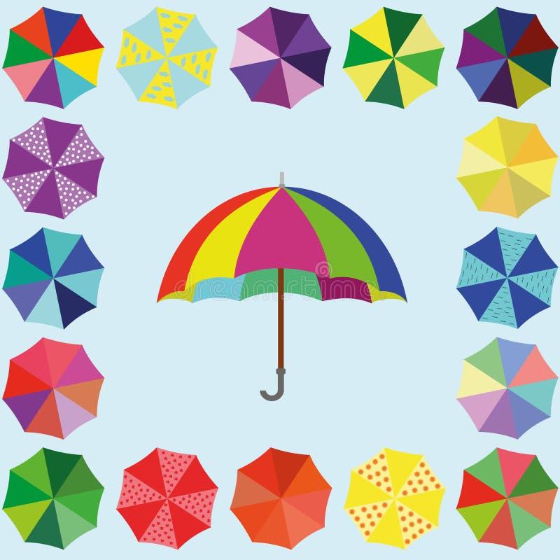 Paraplyet arkivbild